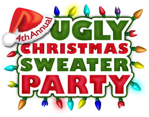 transparent library Panda free . Ugly christmas sweater party clipart