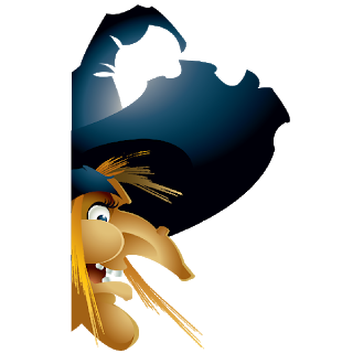 picture transparent stock Witch halloween cartoon clip. Ugly clipart