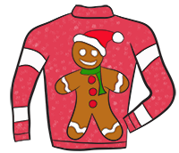 png free download Sweater clip art st. Ugly clipart