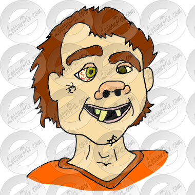 freeuse Picture for classroom therapy. Ugly clipart