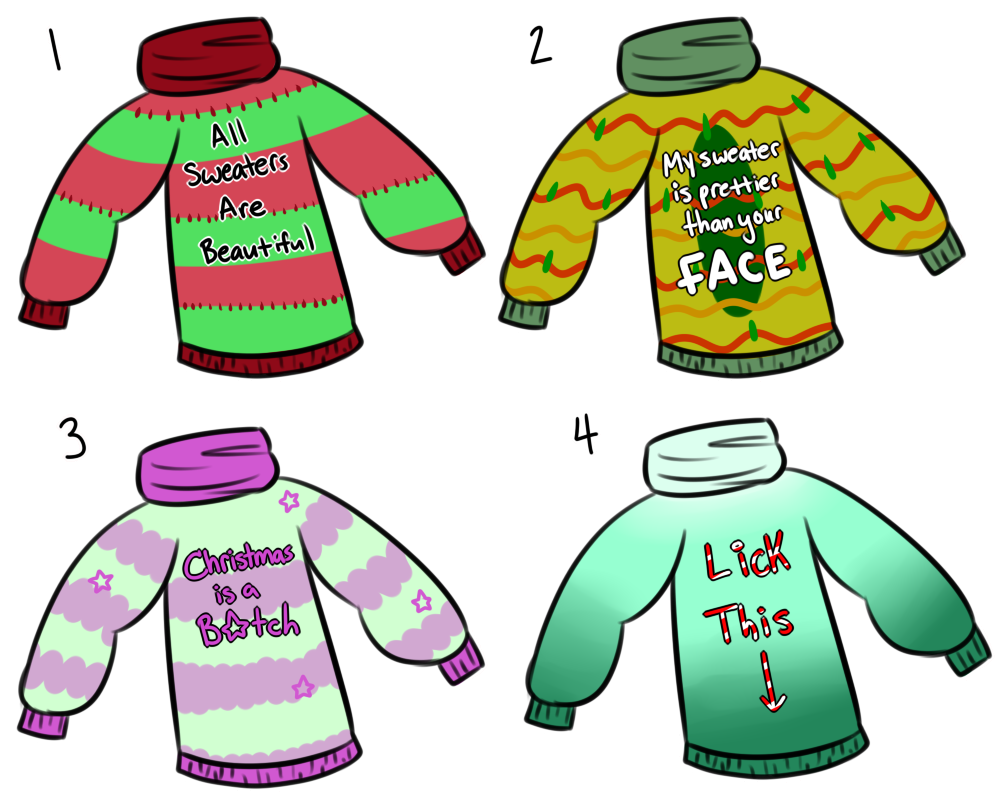banner black and white library Ugly sweater clipart free. T shirt clip art.