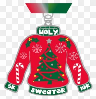 svg transparent  k and christmas. Ugly sweater clipart no background.