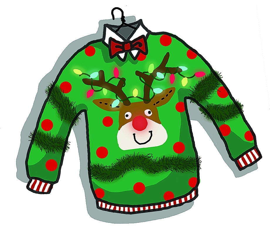 graphic transparent download Ugly sweater clipart no background. Free reindeer cliparts download.