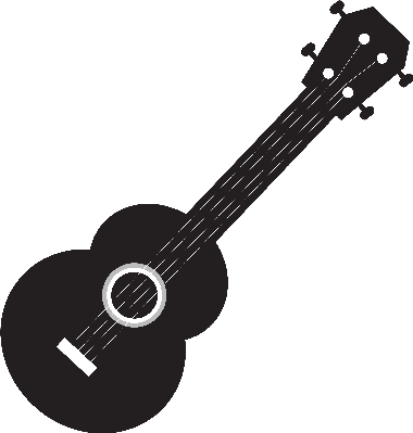 jpg freeuse download Symbol the arts image. Acoustic clipart ukulele