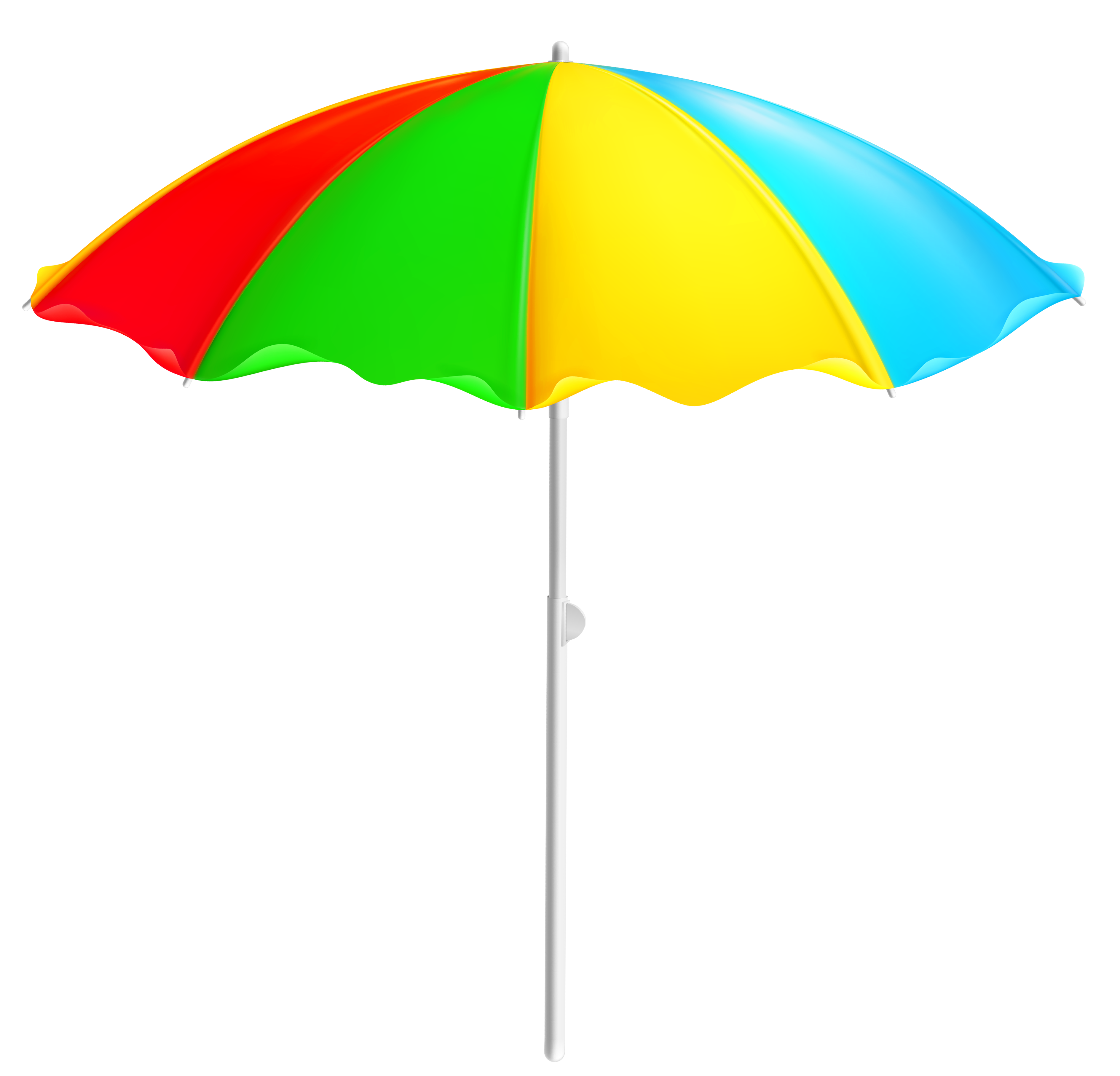picture freeuse download Colorful Beach Umbrella PNG Clipart