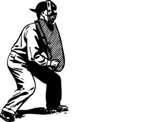 image transparent stock Umpire Clip Art at Clker