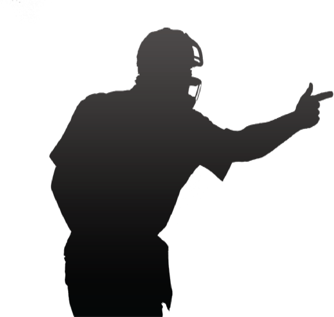 svg freeuse library Meet the officials image. Umpire clipart