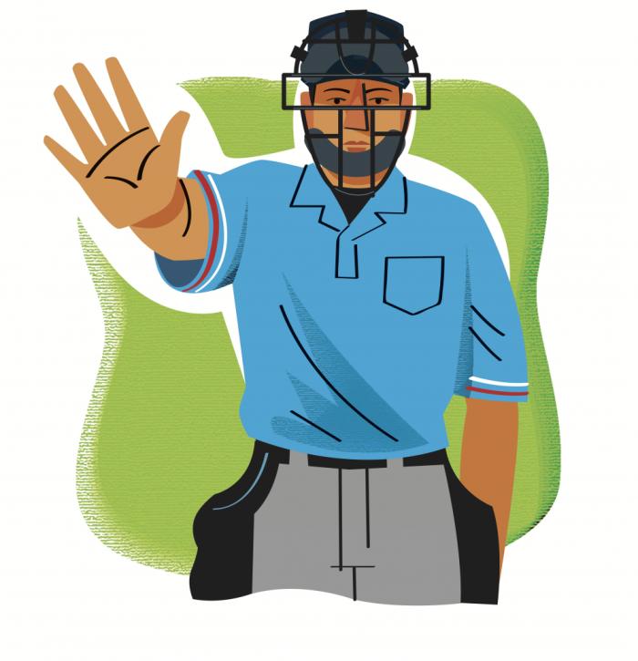png transparent  signals every baseball. Umpire clipart cartoon