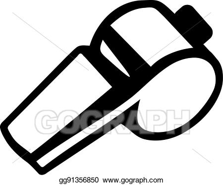 svg black and white Umpire clipart sport whistle. Clip art vector referee