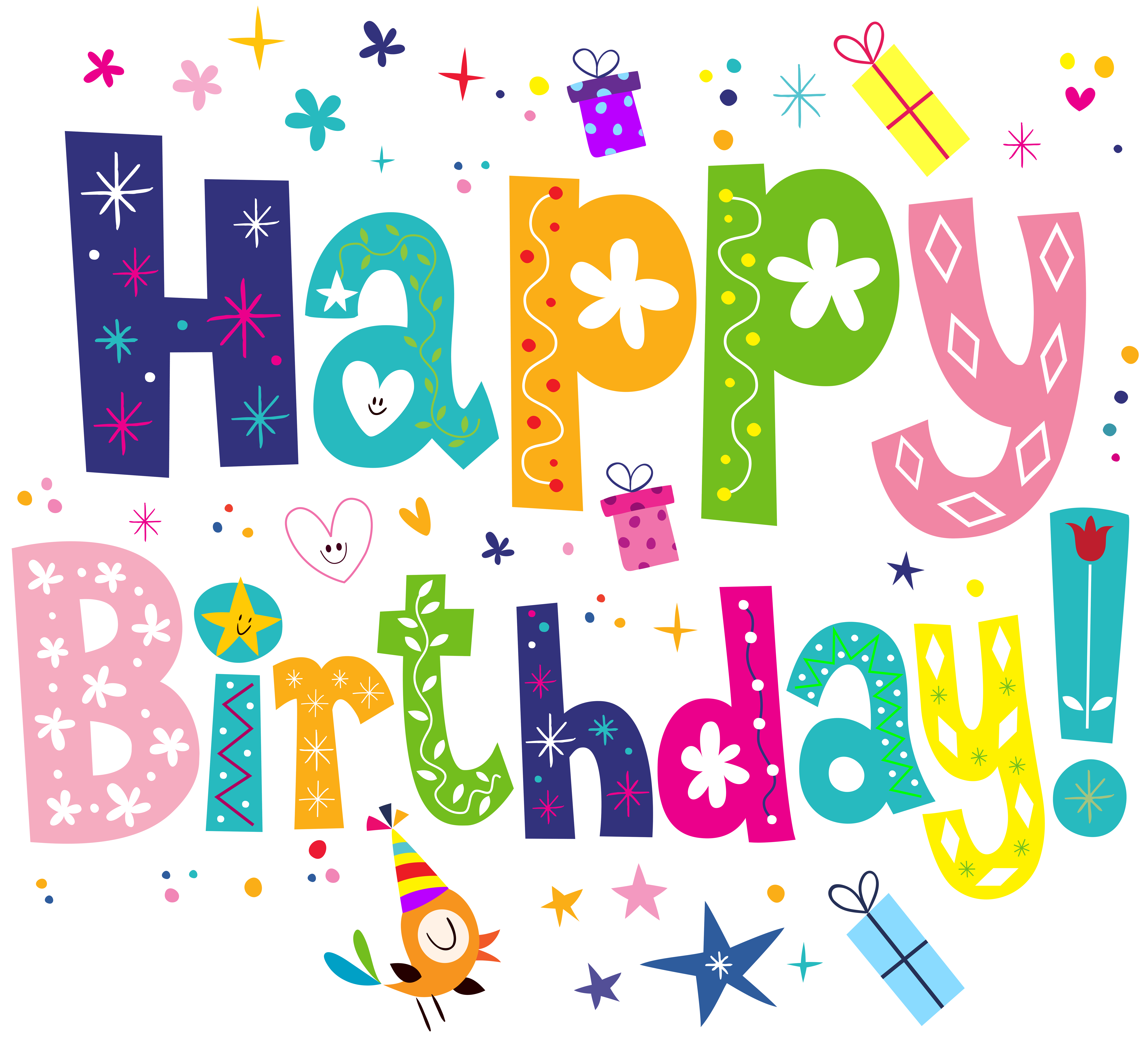 jpg royalty free download Clipart happy birthday. Cute png transparent clip