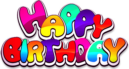banner transparent library Clipart happy birthday. Free animations