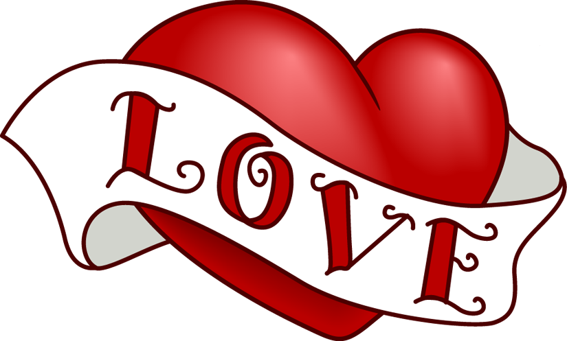 svg library download Under the clipart love. Vintage heart clip art