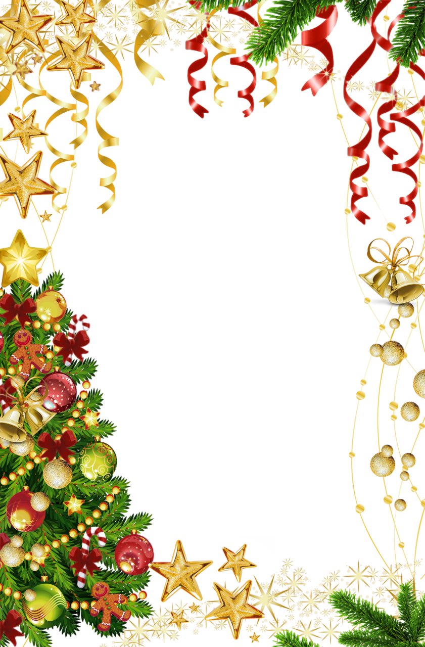 png royalty free Free christmas clipart borders and frames. Transparent photo frame with