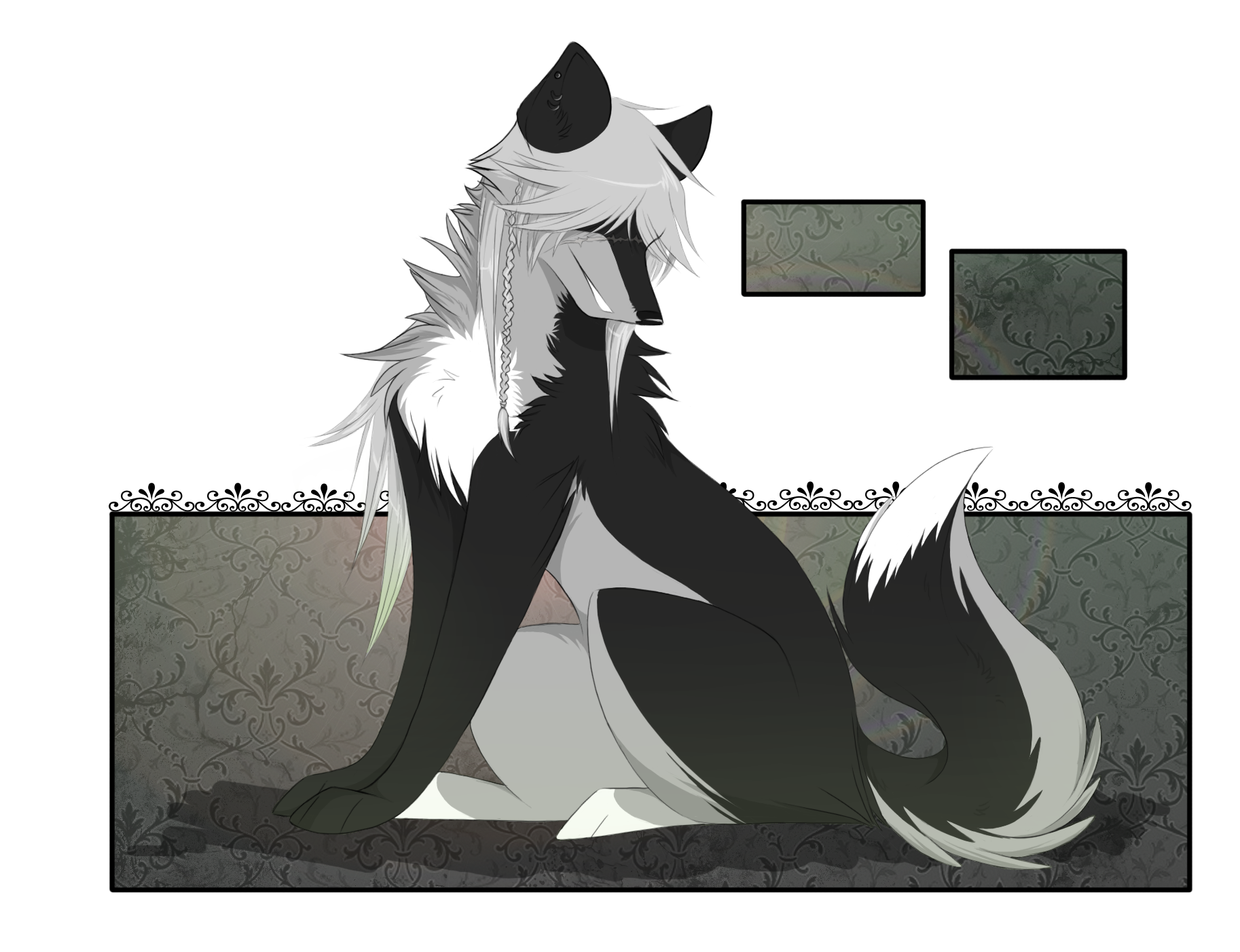 png free Undertaker drawing. Wolf by cristal on