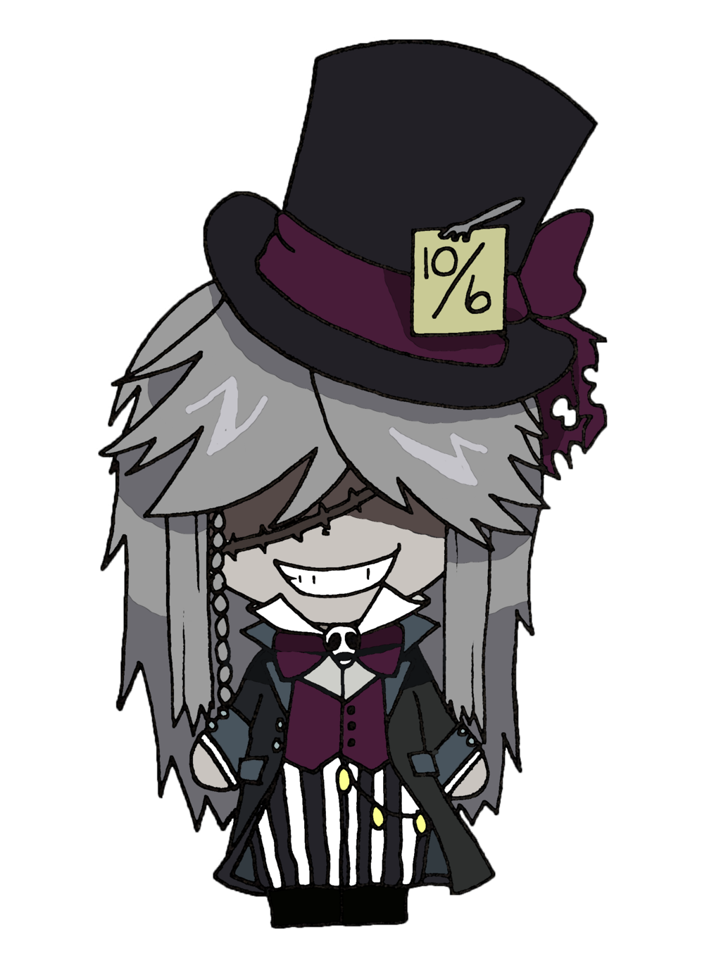 picture royalty free download Black butler the by. Undertaker drawing