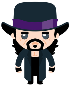 image library stock Undertaker drawing vector. Toongrin art services com