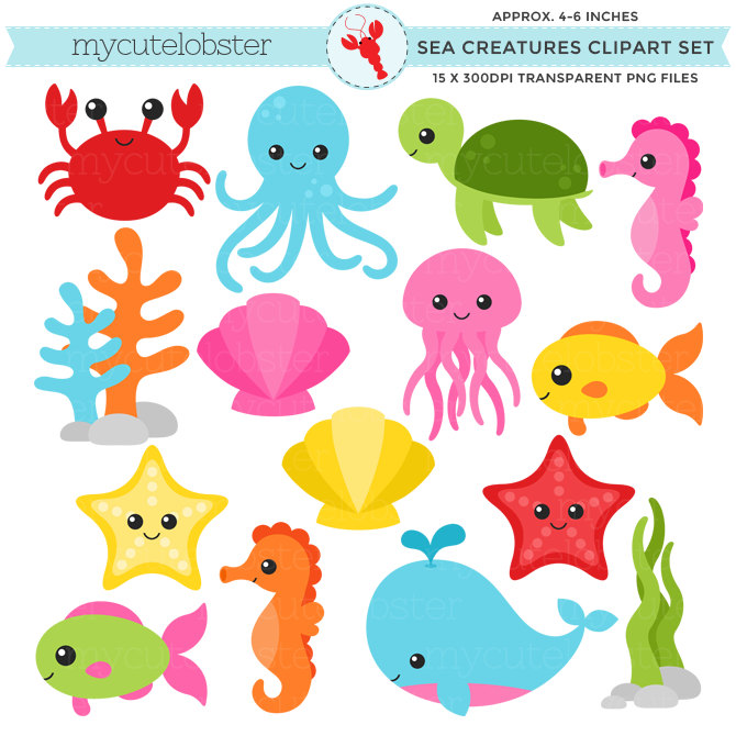 clip freeuse download Free marine animals cliparts. Underwater animal clipart