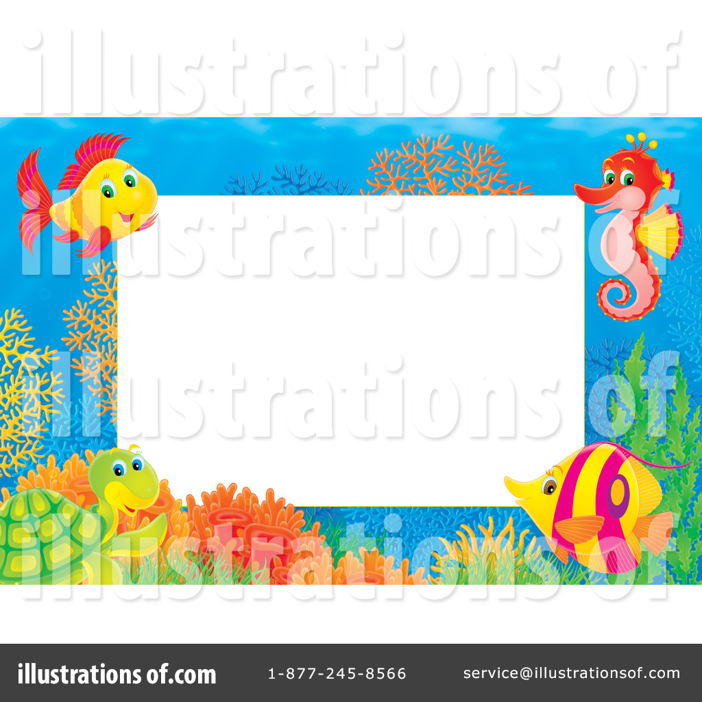 picture freeuse download Collection of free download. Underwater border clipart
