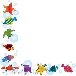 clip art stock Free sea cliparts download. Underwater border clipart