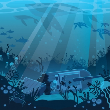 graphic royalty free library Underwater vector. Png psd and clipart