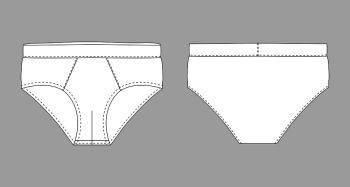 image download You searched for brief. Underwear vector blank