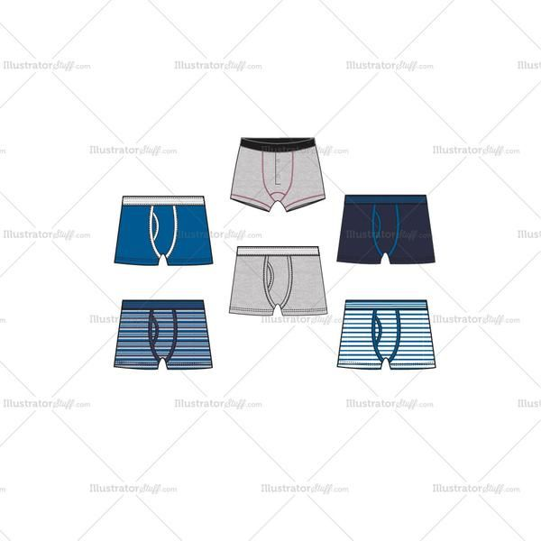 clipart royalty free Pin on men s. Underwear vector boxer briefs