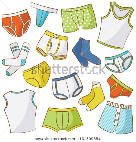 picture transparent library For kids station . Underwear vector kid clipart