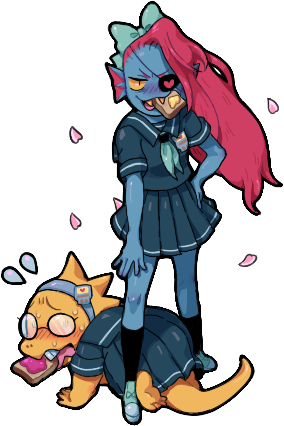 svg library stock Tumblr alphys sporting their. Undyne transparent