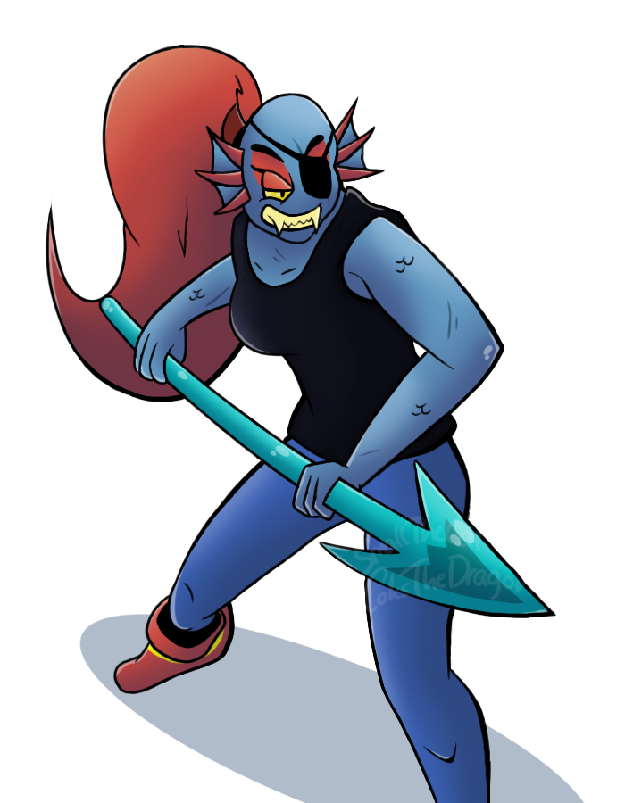 picture free Collab with smallthecat by. Undyne transparent angry