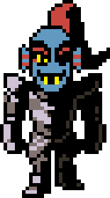 image freeuse library Undyne transparent armor. Image overworld without helmet