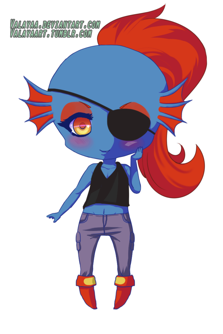 clip transparent Chibi by valayaa on. Undyne transparent baby