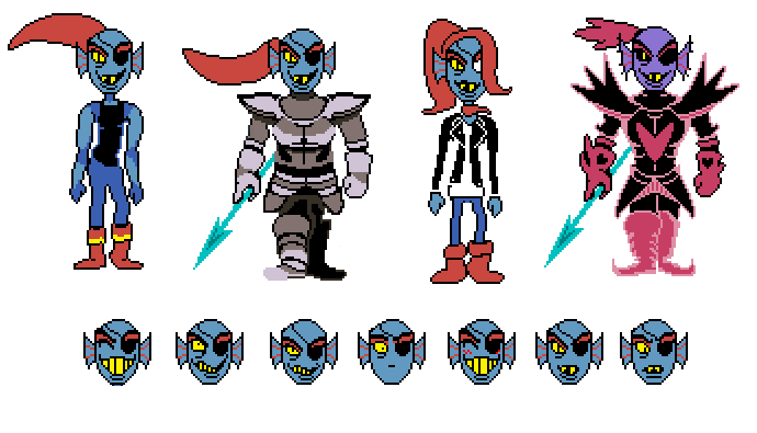 clip royalty free library Now it s time. Undyne transparent color