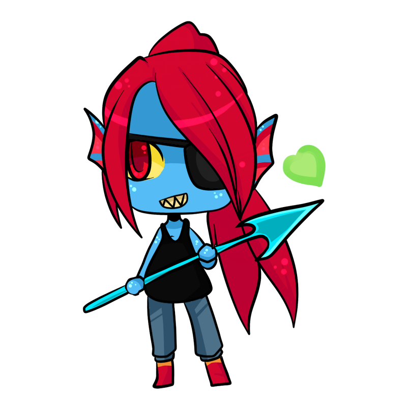 graphic library library Undyne transparent drawing. By xchibixx on deviantart