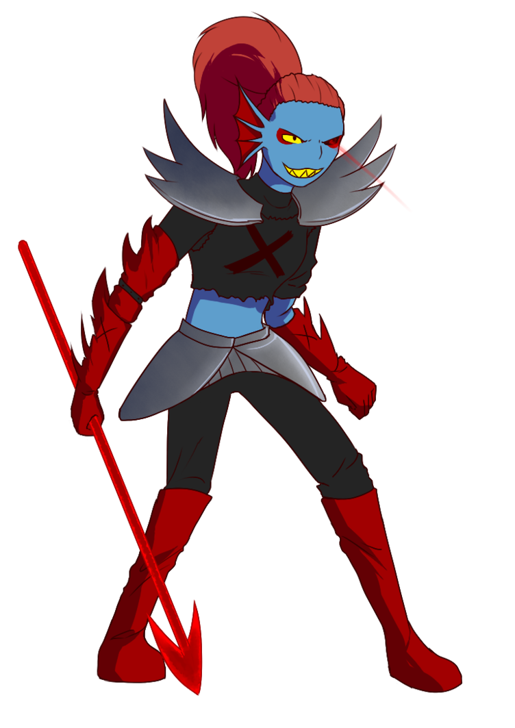 graphic black and white library Underfell the undying undertale. Undyne transparent male