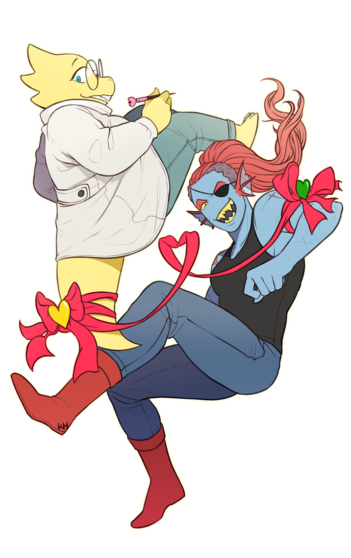 banner freeuse stock Undyne transparent sailor. Undertale alphys x alphyne