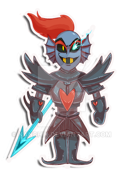 clip art library Sticker undertale know your. Undyne transparent the undying