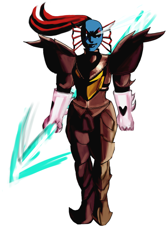 graphic royalty free download Undyne transparent the undying. By hessehl on deviantart