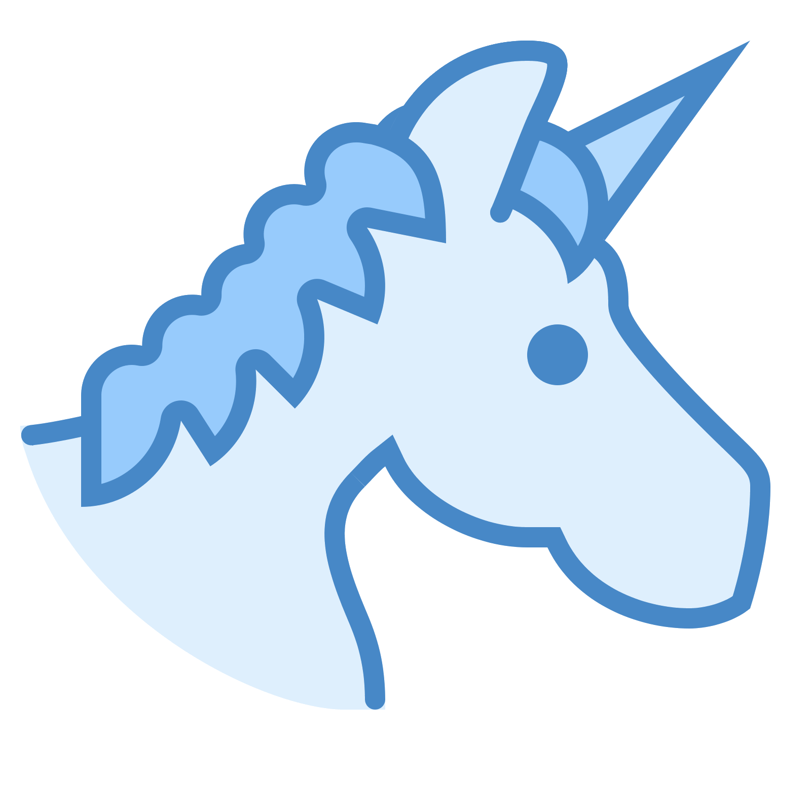picture black and white stock Unicorn icon free download. Unicornio vector