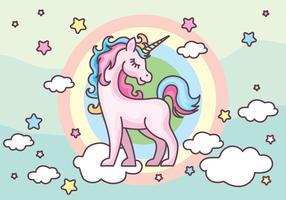 graphic Unicornio vector cute. Unicorn free art downloads