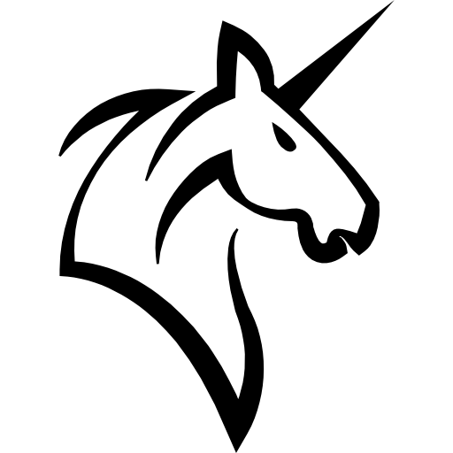 clip art Unicornio vector head. Unicorn horse with a