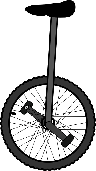 svg free download Clip art at clker. Unicycle drawing animated