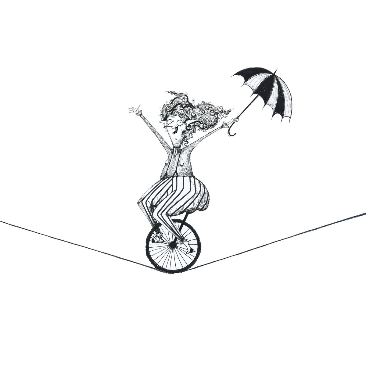 png freeuse library Rhian on twitter day. Unicycle drawing circus