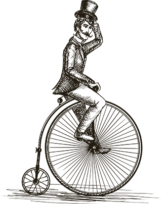 clipart free download Unicycle drawing vintage. The oyster rentals located