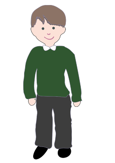 clip art black and white download School jumper free on. Uniform clipart