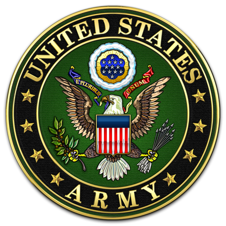clipart transparent library United states army clipart. Military insignia d logo