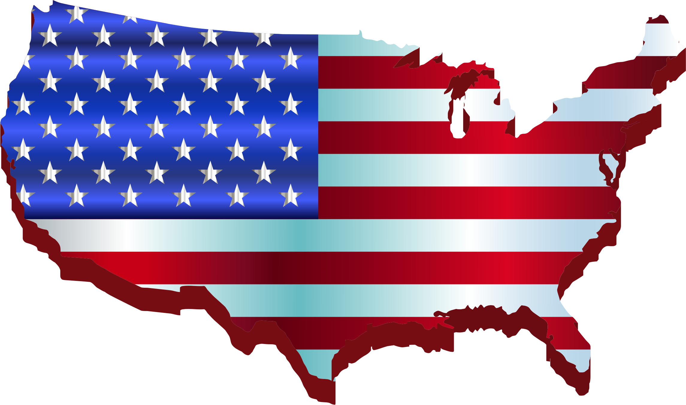 jpg transparent download United states clipart. Map of american usa