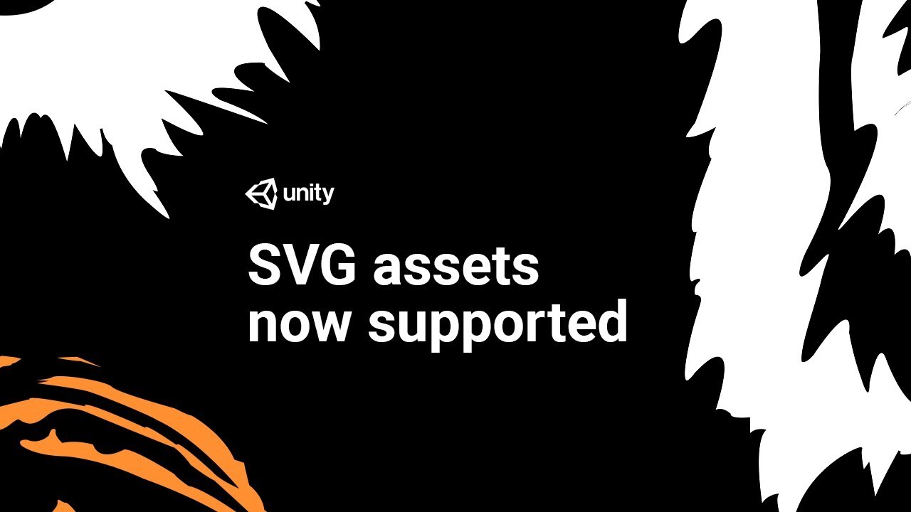 graphic transparent Unity svg. Import vector graphics into