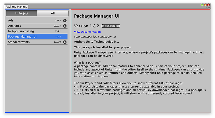 png royalty free Package manager ui website. Unity svg gui