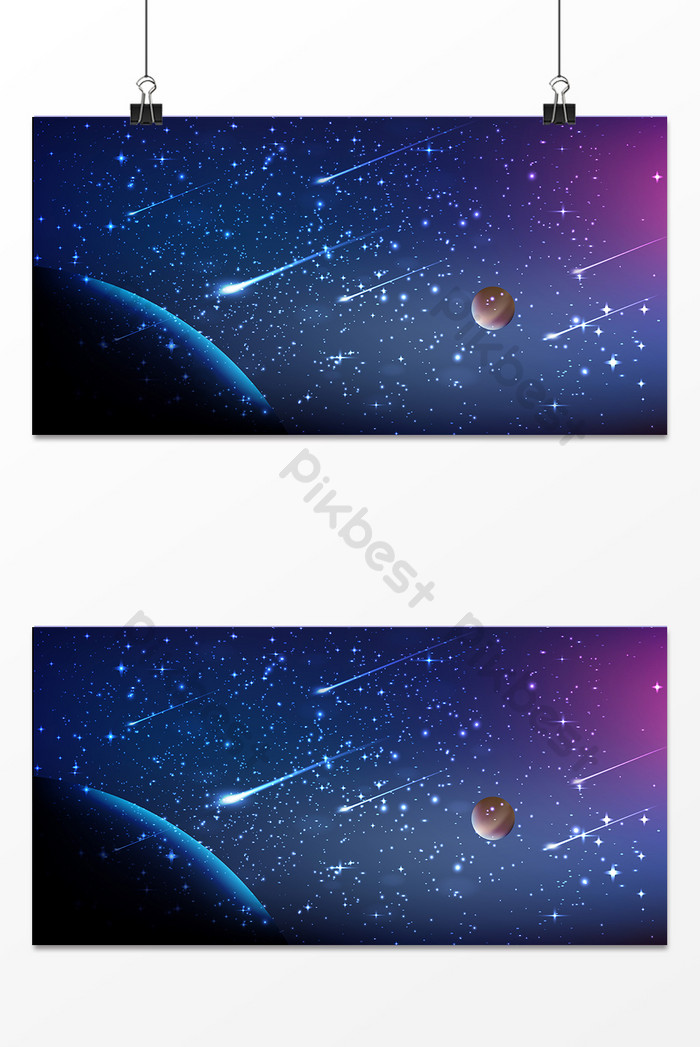 black and white library Romantic illustration . Universe vector background design