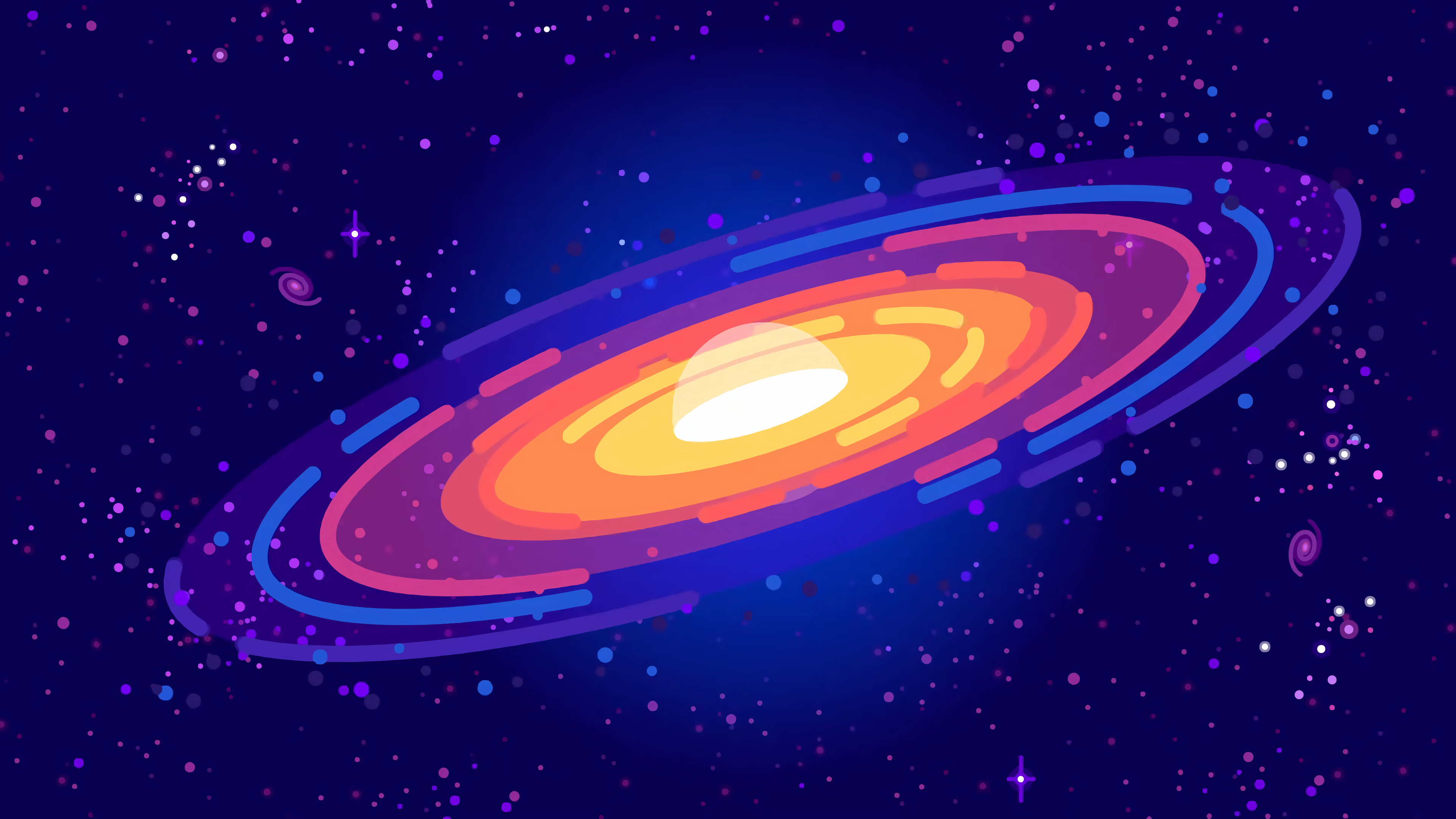 black and white download Universe vector magic. Kurzgesagt s galaxy x